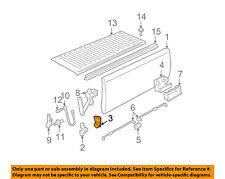 GM OEM Tail Gate Tailgate Hatch-Hinge Left 15691087