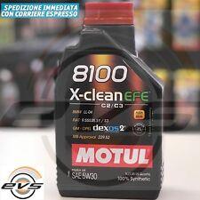 Olio Motore MOTUL 8100 X-CLEAN 5W30 EFE ACEA C2 C3 SINTETICO MB-Approval 229.52