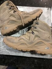 Lowa Mens Zephyr Mid  Leather Hiking Combat Hiker Boots 8.5 Special Ops Military