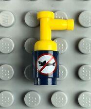 NEW LEGO Dark Blue Shark Repellent Minifigure Accessory Batman No Sharks Print