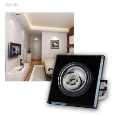 "Recessed Ceiling Light "" Morta "" Anthracite, GU10 230V, Spotlight Mounting Frame"
