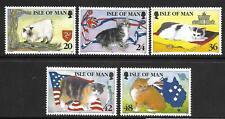 Isle of Man 1996.  Manx Cats SG678/82 MNH