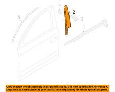 AUDI OEM 11-15 A8 Quattro Front Door-Applique Window Trim Left 4H0837901B5FQ