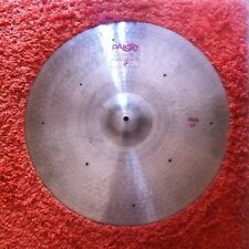"Paiste 2002 24"" Ride 8 Rivets 80's"