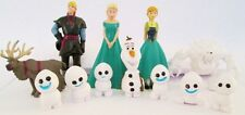 *FROZEN FEVER 12 Figure Set Disney PVC TOY Cake Topper ELSA Olaf SNOWGIES Sven!*
