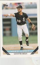 FREE SHIPPING-MINT-1993 Topps #122 Joey Cora Chicago White Sox Baseball Card
