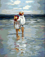 Diy oil Painting Paint by Numbers Kits for Adult Wall Picture See To Sea