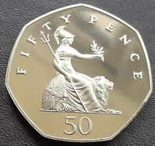 1971 -2021 Elizabeth II 50p Pence Decimal Proof Coin - Choose Your Year
