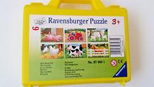 Ravensburger Puzzle - 6 Blocks/6 Different Pictures - New