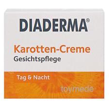 DIADERMA Karotten-Creme Gesichtspflege Tag+Nacht Glättend Carrot Cream 50ml