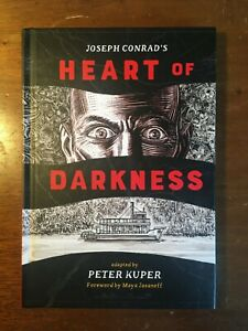 Heart of Darkness Joseph Conrad (Graphic Novel) Adapted by Peter Kuper Hardcover