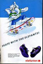 elefanten -- Schuhe - Skate with the Elefants- -Werbung von 1990--