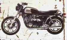 Yamaha XS1100 1982 Aged Vintage SIGN A4 Retro