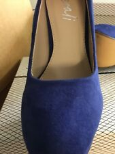 Ladies Size 7 Lipstick Shoes Lucinda Purple Killer HEELS Micropurple Tall & Hot