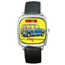 MORRIS MINI-TRAVELLER POSTER REPRO WRISTWATCH **FANTASTIC ITEM***
