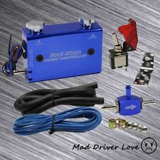 DUAL STAGE SWITCH MANUEL ADJUST BOOST CONTROLLER BLUE FOR UNIVERSAL FIT TURBO WG