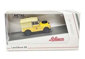 Schuco Land Rover Defender 88 Yellow 1/87