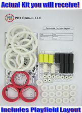 1990 Williams Funhouse Pinball Machine Rubber Ring Kit