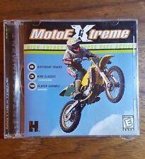 MotoEXtreme, Motocross Race Action, Video Game, 1998, Win98/95