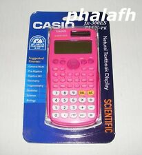 NEW Casio fx-300ES Plus Scientific Calculator Pink Natural Textbook Display