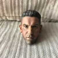 Free Shipping 1/6 Scale BD Ver Jon Bernthal Punisher Frank Castle Head Sculpt AS