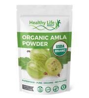 Organic Amla Berry Powder Certified USDA Organic Non GMO Pure Indian Gooseberry