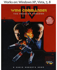 Wing Commander IV 4 The Price of Freedom PC Game 1995 Windows XP Vista 7 8