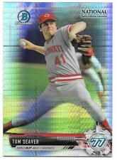 Tom Seaver 2017 Bowman Chrome National Sports Collector Prizm Refractor NSCC