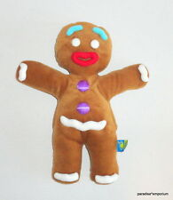 Shrek Gingy Plush Gingerbread Man Full Body Hand Puppet Dreamworks 2011 EUC P47