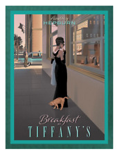 Breakfast at Tiffany's Wall Art Poster Print A4 Audrey Hepburn