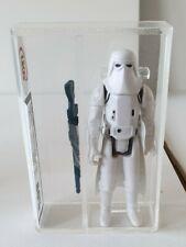 Hoth Stormtrooper Vintage Star Wars Figure UKG Graded 80 HongKong Snowtrooper