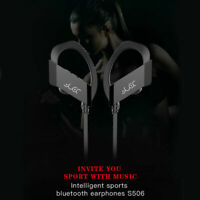 2019 S506 Bluetooth 4.1 Wired Auriculares Estéreo Con micrófono Earphone Deporte