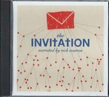 FACTORY SEALED The Invitation CD Rick Warren Amy Grant Casting Crowns Matt Papa