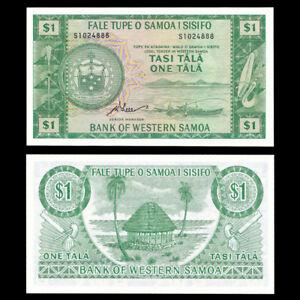 Western Samoa 1 Tala, 1967(2020), P-16dCS, Limited Reprint, Banknote, UNC