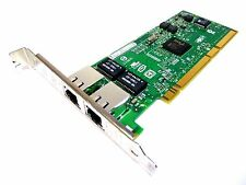 HP AB352-60003 Dual Port 10/100/1000 PCI-X Ethernet Card Full Height Quantity