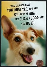 FATHER'S DAY Dog Puppy Humorous -  FROM THE DOG -  Father's Day Greeting Card