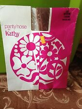 Vintage Kathy charm nude pantyhose sz med