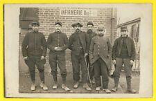 cpa France le 21 Décembre 1914 Carte Photo HÔPITAL MILITAIRES SOLDATS INFIRMERIE