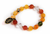 Joan Rivers multi-color beaded with rhinestone stretch Bracelet -New
