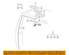 GM OEM High Mount Lamps-Rear Lamps-Wire Connector 12102900