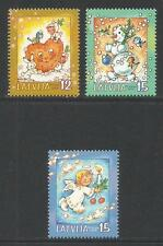Latvia 2004 Christmas/Holiday Scenes--Attractive Art Topical (605-07) MNH
