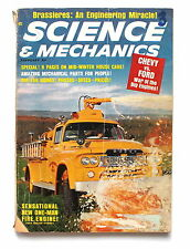 Science and Mechanics February 1964 Chevy vs. Ford Article on Bras Brassieres