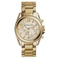 Michael Kors MK5166 Blair Runway Glitz Gold Plated Ladies 38mm Case Women Watch