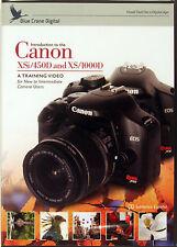 Blue Crane Canon 450D Digital Camera Training DVD