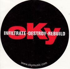 cKy Infiltrate Destroy Rebuild Rare promo sticker '02
