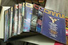 Lotto 20 riviste OMNI Scienza Fantascienza da DICEMBRE 1981 a LUGLIO/AGOSTO 1983