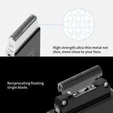 Rasoio barba Rasoio taglia capelli elettrico ultrasottile con caricabatterie USB