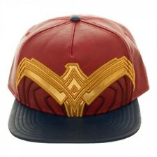 Official DC COMICS-WONDER WOMAN (film) Symbole Costume Style Rouge Casquette Réglable