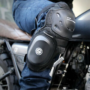 Adult Knee & Shin Armor Protector Guard Pads for Motorcycle Racing Motocross