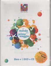 IL MONDO DEL PRIMO MAGGIO IL MONDO CHE VORREI LIBRO + 2 DVD + CD SIGILLATO!!!